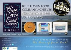 Blue Haven Food Company Food Company, Star Food, Gold Stars, Blue