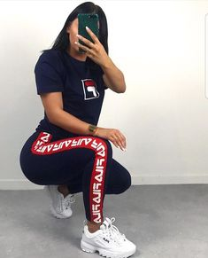 You are in the right place about fila shoes outfit guys Here we offer you the m Chill Outfits, Swag Outfits, Dope Outfits, Trendy Outfits, Summer Outfits, Fashion Outfits, Fashion Tips, Cute Sporty Outfits, Looks Adidas