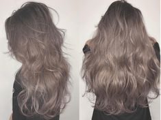 Healthy Blonde Hair, Dyed Blonde Hair, Brown Blonde Hair, Dye My Hair, Ashy Hair, Hair Color Balayage, Hair Highlights, Permed Hairstyles, Aesthetic Hair