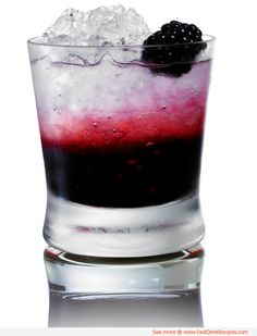 Check out this pretty Seductive Swan cocktail recipe for this seductive mix of vodka, blackberries, and lemonade.   Ingredients: 5 blackberries Ice, 1 ½ ounces vodka 3 ounces lemonade  Directions: Muddle four blackberries in the bottom of a tumbler. Add ice, vodka, and lemonade then mix together. To serve, pour into a glass and garnish with the remaining blackberry.
