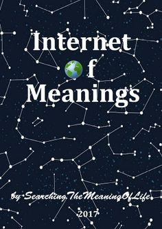"""#free #ebook by #searchingthemeaningoflife """"IoM"""" #internet of #meanings"""