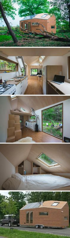 Modern Dutch tiny house