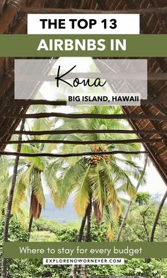 Wondering where to stay on Hawaii's Big Island? This is a list of epic oceanfront condos, bucket list homes for indoor-outdoor living, and other amazing Kona Airbnbs. Where to stay in Kona Hawaii | Kona Airbnb | Kona Hawaii condos | Big Island itinerary Kona Hawaii, Kailua Kona, Hawaii Condos, Kealakekua Bay, Indoor Outdoor, Outdoor Living, Magic Sand, Unique Hotels, Outdoor Adventures