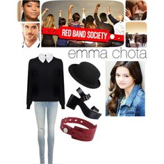 red band society-emma chota via polyvore @sydnerrr2