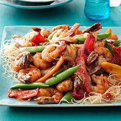 Shanghi Shrimp Stir-Fry