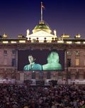 Film 4 at Somerset House from August - a night under the stars watching the stars! #film https://www.somersethouse.org.uk/film