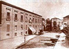 Salamanca en el ayer: Plaza de los Bandos Plaza, Closed Doors, Gates, 19th Century, Antique Photos, Palaces, Black And White