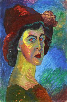 Self-Portrait (Marianne von Werefkin - 1910)
