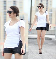 Furor Sunglasses, Jcpenney Top, Forever 21 Shorts, Forever 21 Shoes