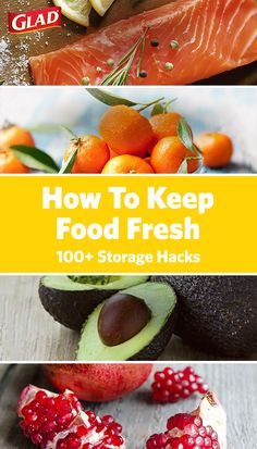 From ravishing romaine to kissable kumquats—get fresher food from fridge to freezer with these essential food-saving tips from Glad. Discover helpful hints on how to freeze and store everything from carrots to cupcakes.  Click to read more.