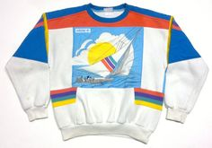 Vintage Adidas Regatta Sweater size M by laGalerieBienne on Etsy, $145.00
