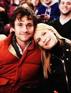 Hugh dancy and claire danes. As much as I hate Claire Danes Hugh needed another pic on my boards. And they're a cute looking couple! BUT MAN HUGH'S CUTE!!!!