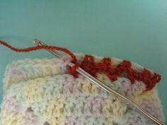 Uniones básicas de cuadrados tejidos al crochet   Ideas para tejido y manualidades