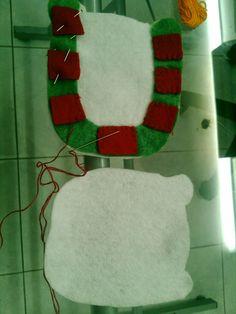 Las Manos de Angelica: Reno de Navidad Christmas Stockings, Christmas Crafts, Projects To Try, Ornaments, Vintage Decorations, Holiday Decor, Craft Ideas, Home Decor, Reindeer