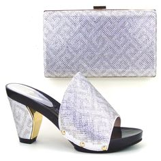 61.38$  Buy here - http://aliyhn.worldwells.pw/go.php?t=32757235805 -  fashion african shoe and bag set for party italian shoe with matching bag new design ladies matching shoe and bag italy HWE1-35 61.38$