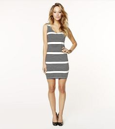 This striped dress is a summer classic! Tank Dress, Striped Dress, Giveaways, Style Me, Essentials, Dressing, Bodycon Dress, Fancy, Deep