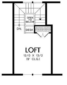 Plano de casa de 2 pisos y 2 dormitorios