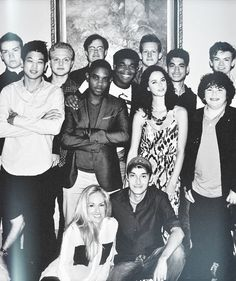 Our cast in its (almost) entirety.... Without the main character where is dylan??!!