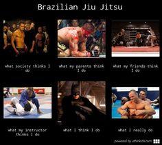 jiu jitsu perception, reality
