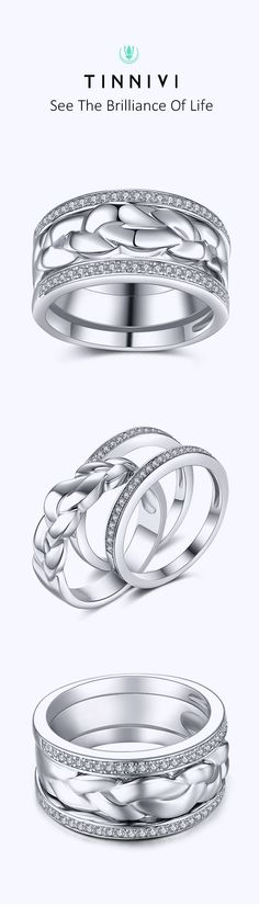 Shop ❤️Round Cut White Sapphire 925 Sterling Silver Women's Wedding Bands❤️online️, Tinnivi creates quality fine jewelry at gorgeous prices. Shop now! Womens Wedding Bands, Wedding Bride, Wedding Anniversary Rings, Wedding Rings, Jewelry Gifts, Fine Jewelry, Cheap Engagement Rings, White Sapphire, Gifts For Him