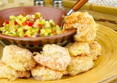 Baked Coconut Shrimp from @djfoodiedotcom / #lowcarb shared on https://facebook.com/lowcarbzen