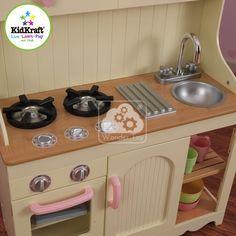 Kuchnia dla dzieci KidKraft Prairie Kitchen 53151 (6104147168) - Allegro.pl…