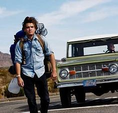 Into the Wild Emile Hirsch The Happiness is only real if shared. (Christopher McCandless)