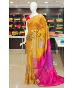Buy Latest Model Pure Uppada Silk Sarees From Siri Collections