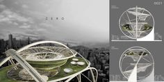 Zero Is A Sphere-like Skyscraper With Minimal Footprint For Hong Kong
