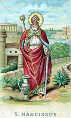 San Narciso de Jerusalén, obispo