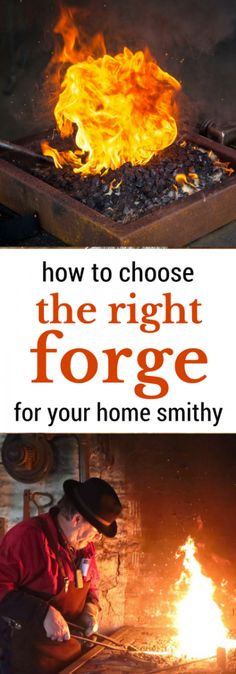 Wondering how to choose the right forge for your backyard blacksmithing? This article will walk you through choosing the best forge for your needs! Home Forge, Diy Forge, How To Forge, Metal Projects, Metal Crafts, Welding Projects, Woodworking Projects, Welding Crafts, Unique Woodworking