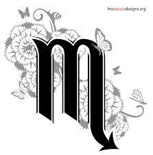 scorpio! I just love this it has flowers and butterflies for willow<3