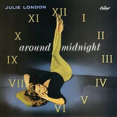 Julie London Capitol record album cover