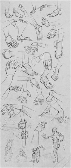 I know I said I'd stop posting these in my main gallery, but hands and feet are fun, hah. I think it is getting a bit silly though, so as before if you want to continue seeing these be sure to chec...