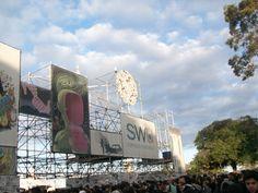 Entrance of SWU Festival