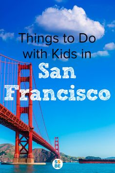 (Realistic) Things to Do in San Francisco with Kids Looking for fun things to do in San Francisco with kids? Traveling with children is hard. Here are things to do in san francisco with toddlers, young kids and even babies. I Want To Travel, Travel With Kids, Family Travel, San Francisco Vacation, San Francisco Travel, Orange County, Places To Travel, Places To Visit, Travel Destinations