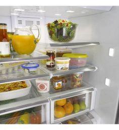 Get a Counter Depth Refrigerator, No More Food Spoilage - Comparison of Counter Depth Refrigerators Best Counter Depth Refrigerator, Side By Side Refrigerator, Stylish Kitchen, New Kitchen, Food Spoilage, Kitchen Cabinets, Kitchen Appliances, Kitchens, First Home
