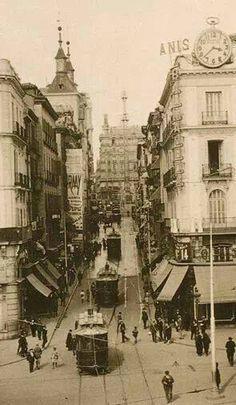 Calle Montera. Años