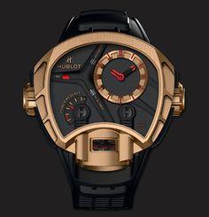 Hublot MP-02 Key of Time King Gold