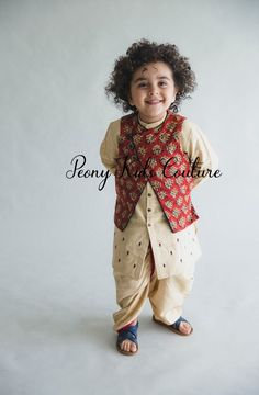 Peony Kids Couture is an Online store selling Party Wear Dresses for Baby Girls, Baby Boys, Party Wear Dresses for Boys, Party Wear Dresses for Girls & Party Wear Frocks for Girls. Indian Dresses For Kids, Kids Indian Wear, Kids Ethnic Wear, Kids Party Wear Dresses, Kids Dress Wear, Baby Boy Dress, Baby Girl Dresses, Kids Dress Collection, Kids Blouse Designs
