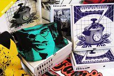 Sopa de Cebra - 25 Cool T-shirt Packaging Design Examples