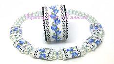 PDF TUTORIAL ~ Good Morning Gloria Peyote Bracelet & Triple Carrier Bead Cover