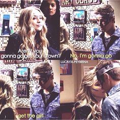 Lucaya edit. Inspiration by The DUFF