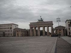 Berlin, Germany.  Brandenburg Gate.