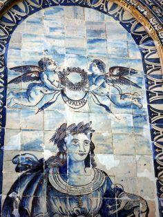 FRONTEIRA, Azulejos. 5 hectáreas  de jardin,  Portugal