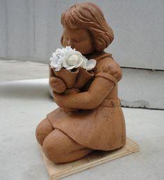 "from ""chocolate children"" sculptures exhibition of Nestle"