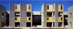 Salk Institute for biological studies 1959-1965  by Louis Kahn