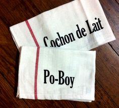 Fleurty Girl NOLA Dish Towels - Cochon De Lait