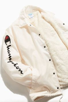 fb6e6e203a Champion Sherpa Lined Coach Jacket