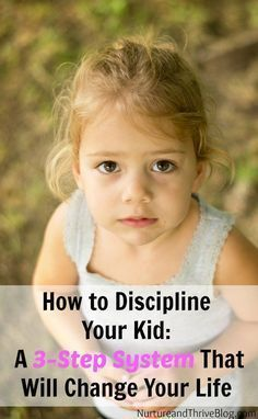 A 3-Step System for Positive Discipline